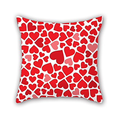 NICEPLW 16 X 16 Inches / 40 By 40 Cm Love Pillow Cases,double Sides Is Fit For Bedding,car,drawing Room,car Seat,sofa,saloon (Thru Floor Fan compare prices)