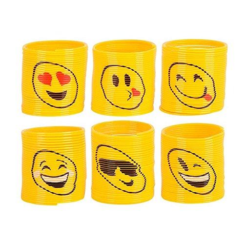 Emoji Springs Birthday Party Favors
