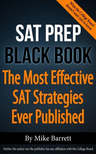 SAT Prep Black Book Strategies ebook product image
