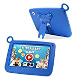 Ogima Kid Pad 7 Inch Android Tablet Touch Kids Tablet 7'' Quad Core with Games Dual Cameras Wi-Fi Google Play Store w/IWAWA Learning APP 1024 X 600 HD Resolution 8GB Storage