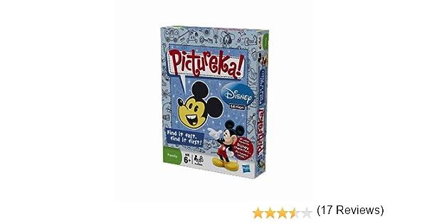 Hasbro Juego Pictureka (edición Disney): Amazon.es: Juguetes y juegos