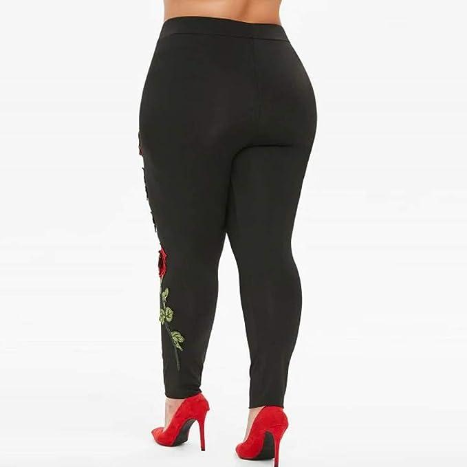 Zarupeng Pantalones De Talla Grande para Mujer Pantalones De ...