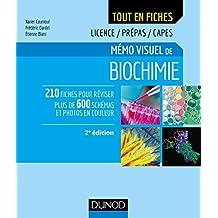 Mémo visuel de biochimie - 2e éd. : Licence / Prépas / Capes (French Edition)