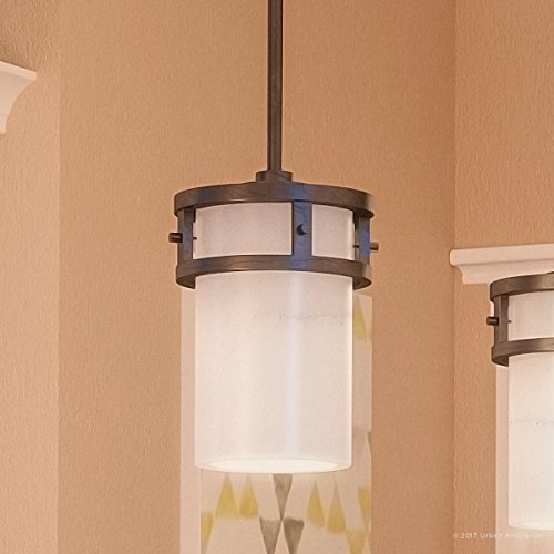 Luxury Rustic Hanging Pendant Light, Small Size: 7