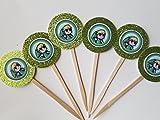 8 NEW Zelda Cupcake Toppers Br