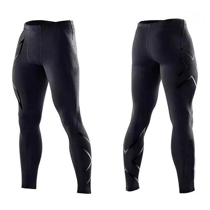 YYHGLH Pantalones De Chándal para Hombre Pantalones De Compresión ...