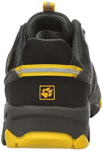 Pictures of Jack Wolfskin Unisex MTN Attack 2 Texapore Low K Hiking Boot, Burly Yellow, 5 M US Big Kid 7