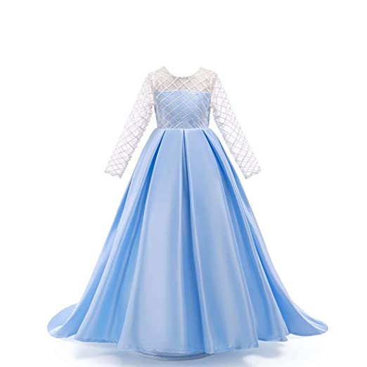 717daabe2f79b kids Showtime Girls Dresses Party Wedding Dress Special Occasion Elegant  Dress for Kid Girls