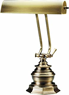 product image for House Of Troy P10-111-71 14-Inch Portable Desk/Piano Lamp, Antique Brass