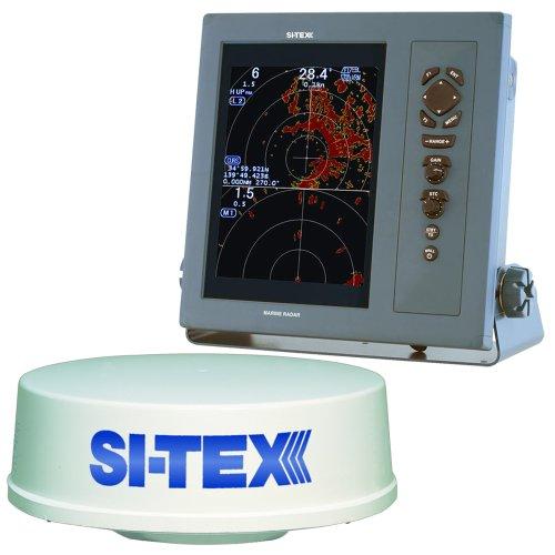 "SI-TEX T-2041 Professional Dual Range Radar w/4kW 25"" Dome - 10.4"" Color TFT LCD Display"