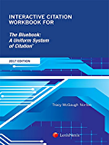 Interactive Citation Workbook for The Bluebook: A Uniform System of Citation