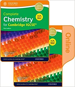 Complete Chemistry for Cambridge IGCSE® Print and Online Student