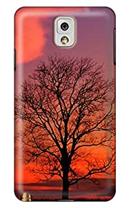 Simply Case Designs A Tree at Crimson Twilight Design PC Material Hard Case For Samsung Galaxy N9000 Note 3