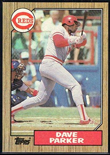 Baseball MLB 1987 Topps #691 Dave Parker - Parker Dave Topps Reds