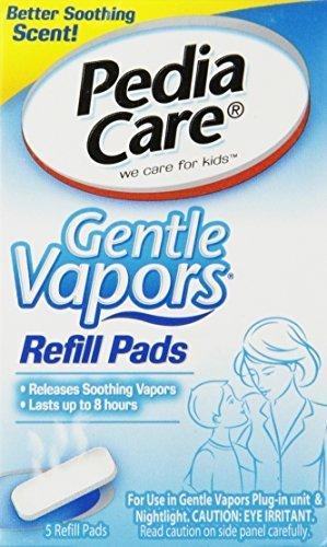 Pediacare Gentle Vapor Refills, 5 Pads (Best Humidifier For Croup)