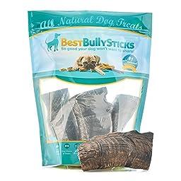 Large Australian Goat Horn Dog Chews by Best Bully Sticks (3 Pack)