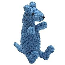 Jax & Bones Good Karma Rope Dog Toy, Kobie The Kangaroo 9-Inch