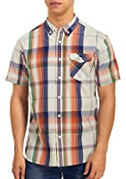 Levi's Men's Hulman Short Sleeve CVC Poplin Woven Shirt
