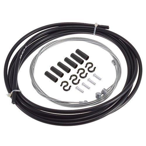 Replace Bike Brake Cables - MTB Bike Brake Shift Cable Control Line Road Bike Gear Brake Cable End Crimp Kit