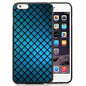 Blue Grating Abstract Silicone TPU iPhone 6plus 5.5 Inch Protective Phone Case