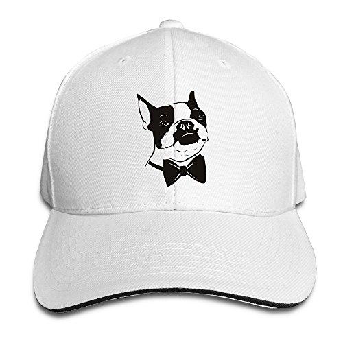 Ny Boston Terrier Sandwich Hats For Womens (Terrier Womens Cap)