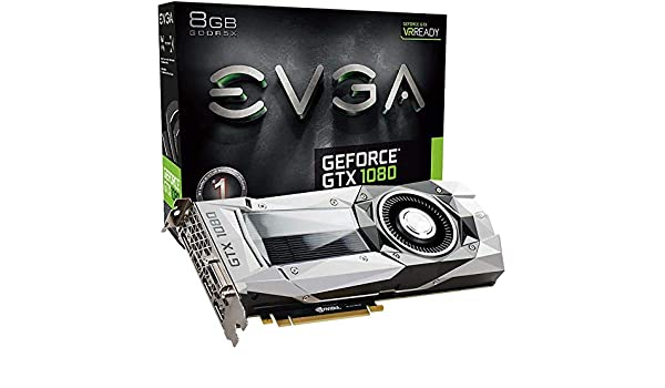 Amazon.com: NVIDIA GeForce GTX 1080 Founders Edition, 8GB GDDR5X PCI Express 3.0 Graphics Card (Certified Refurbished): Computers & Accessories