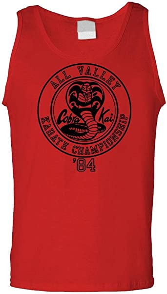 Cobra Kai Karate Championship - 80's Movie - Mens Tank Top