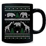 Zoologist Ugly Christmas Sweater Xmas Animals - Mug