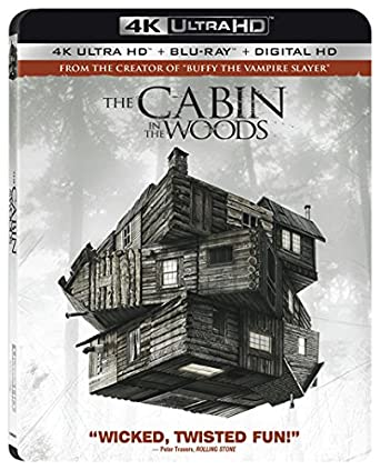 amazon com the cabin in the woods 4k ultra hd blu ray chris