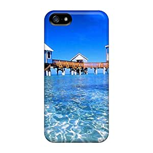 Iphone 5/5s Cover Case - Eco-friendly Packaging(mysterious Bermuda)