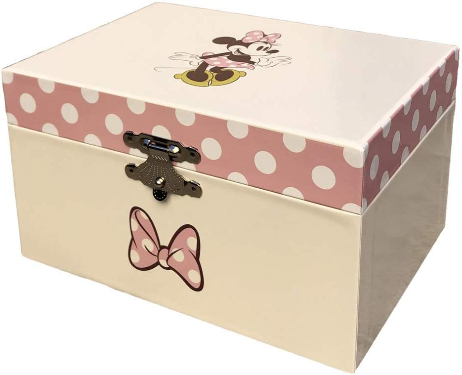 Minnie Mouse- Joyero Caja Musical de Minnie, Multicolor, única ...