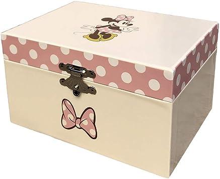 Minnie Mouse- Joyero Caja Musical de Minnie, Multicolor, única (Kids Licensing WD20323): Amazon.es: Juguetes y juegos