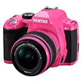 Pentax K-r 12.4 MP Digital SLR Camera with 3.0-Inch LCD and 18-55mm f/3.5-5.6 Lens (Pink)