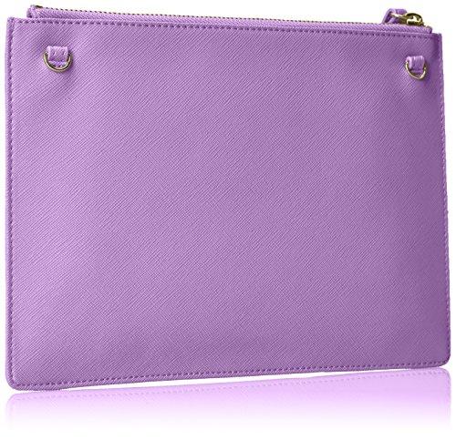 Bustina Jeans Black Wristlet Lilac Handbag Armani Women's wExHgZgqf