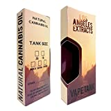 100 Los Angeles Shatter Oil Slim Display Packaging Boxes by Shatter Labels VB-025