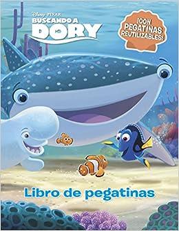 Buscando A Dory. Libro De Pegatinas: ¡con Pegatinas Reutilizables! por Disney epub