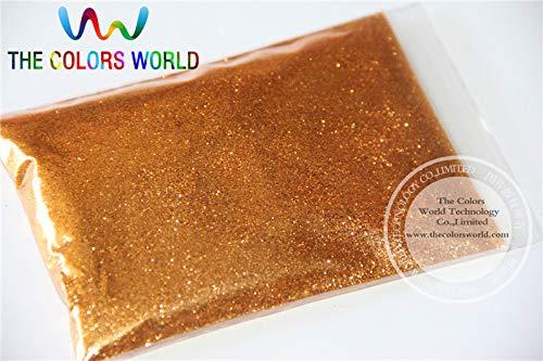 Kamas B0403 Bronze Color Glitter powder -0.2MM glitter dust dazzling glitter powder,DIY Flash powder - (Color: 500g)