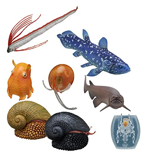 Ikimon Kitan Club Deep Sea Creature Plastic Toys, Version 1 - Blind Box Includes 1 of 8 Collectable Figurines - Fun and Educational - Authentic Japanese Design - Made from -