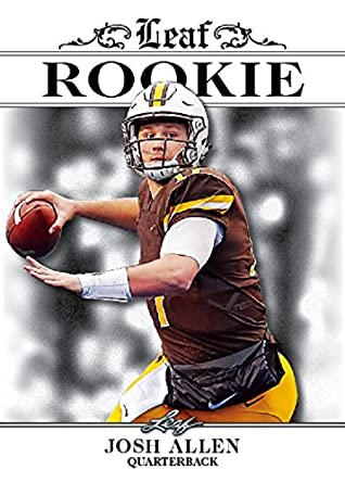 Josh Allen 2018 Leaf Football Exclusive Rookie 25 Card Lot Buffalo Bills   RA-02 8be8bf716