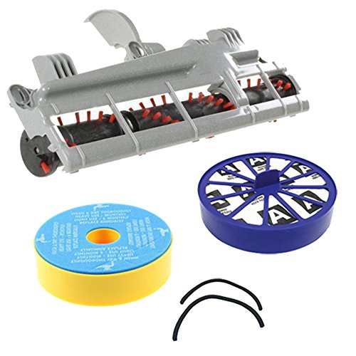 - Spares2go Filter with Seal Kit & Brushroll For Dyson DC07 Vacuum Cleaner