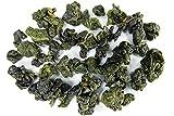 Tea Heart(R) Taiwan High Mountain Supreme Grade Quality Oolong Tea Loose Leaf Green Oolong Tea 100% Natural SGS Organic Cert Tea 梨山茶 (LiShan Supreme Grade Oolong, 600g)