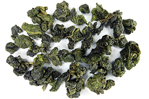 Tea Heart(R) Taiwan High Mountain Supreme Grade Quality Oolong Tea Loose Leaf Green Oolong Tea 100% Natural SGS Organic Cert Tea 梨山茶 (LiShan Supreme Grade Oolong, 600g) by Tea Heart