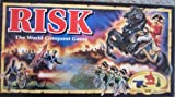 Risk 1993 Board Game with Army Shaped Miniatures