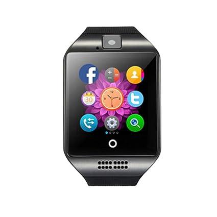 teepao Smartwatch teléfono inalámbrico pantalla táctil bluetooth a prueba de sudor Smartwatch con cámara, tarjeta
