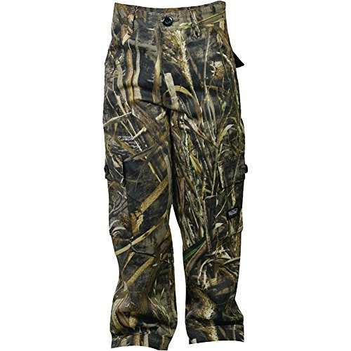 Walls Boy's Youth Hunting 6-Pocket Cargo Pants, Real Tree Max Five, M - Youth Hunting Clothes