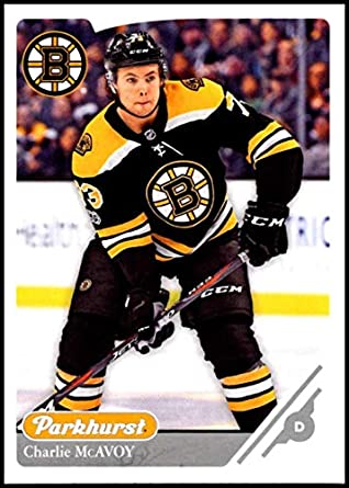 2018-19 Upper Deck Parkhurst Silver  166 Charlie McAvoy Boston Bruins  Official NHL Hockey bf58de0e4