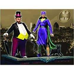 DC Direct Silver Age Catwoman & Penguin 2 Pack