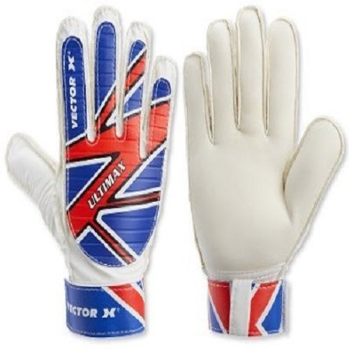 Vector X Ultimax Goalkeeping Gloves  Blue, White, Red