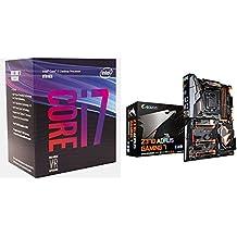 Intel BX80684I78700 8th Gen Core i7-8700 Processor and  GIGABYTE Z370 AORUS Gaming 7