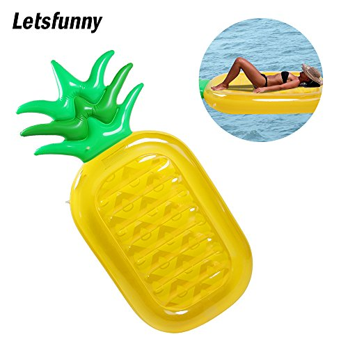Pineapple LetsFunny Inflatable Tropical Swimming product image